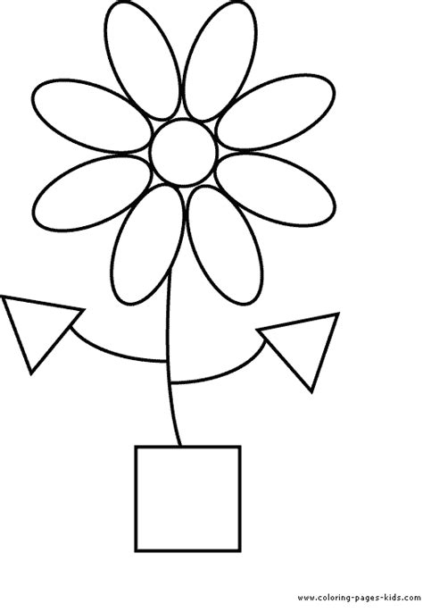 shape coloring pages free coloring pages of 2d shape