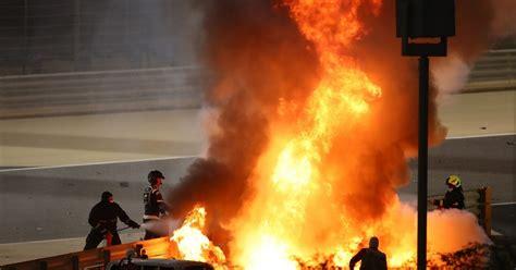 safety systems praised  grosjean survives fireball