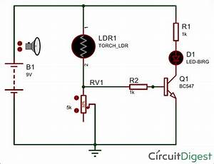 Light Detector Circuit Diagram  With Images