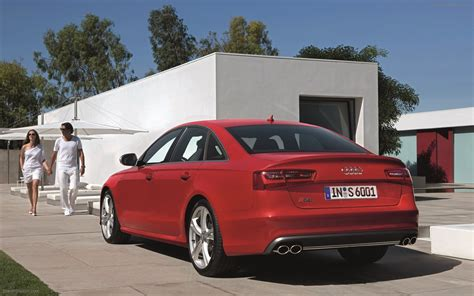 Audi S6 2018 Widescreen Exotic Car Wallpapers 08 Of 28