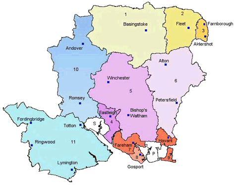 map  hampshire