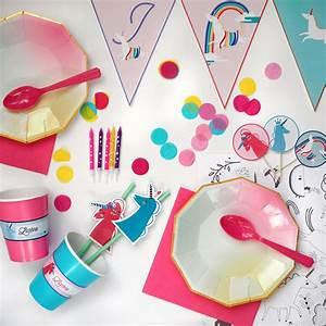 Decoration Licorne Chambre : kit anniversaire licorne decoration enfant fille achat vente ~ Teatrodelosmanantiales.com Idées de Décoration