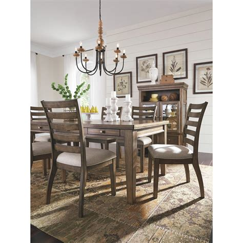Since 1997, ashley furniture has strived to continuously provide the best product at the best prices. Signature Design by Ashley Flynnter Rectangular Dining Table, Medium Brown, | eBay