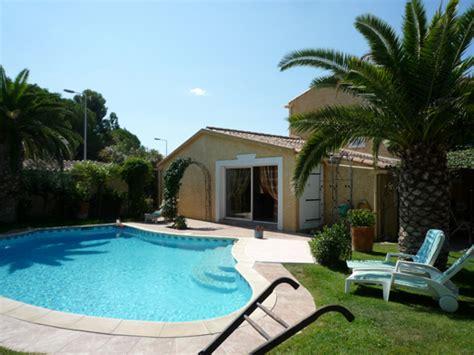 villa avec piscine montpellier maison de vacances pour 6 personnes