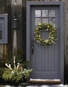 Grey Front Door Paint Colors