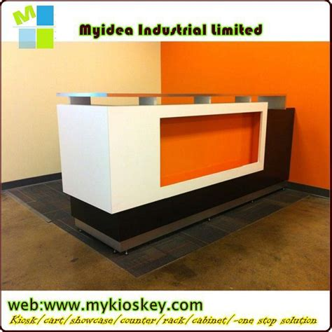 Luxury And Top Quality Reception Counters With Lights(sz002) Reception Counter Design   Buy