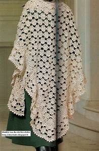 Crochet En S : chales en crochet ~ Nature-et-papiers.com Idées de Décoration