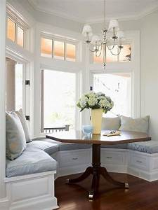 40 cute and cozy breakfast nook decor ideas digsdigs With kitchen colors with white cabinets with diy american flag wall art