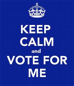 The gallery for --> Student Council Election Slogans
