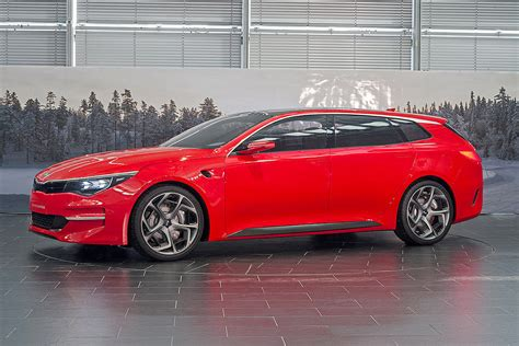 real pictures of kia optima wagon concept sportspace