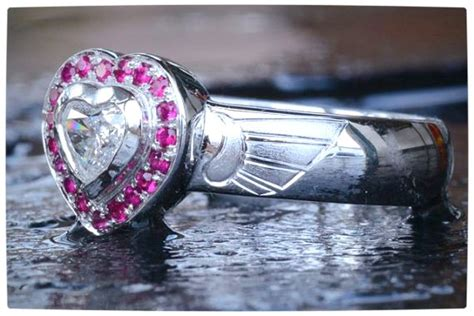 10 Gorgeously Geektastic Engagement Rings