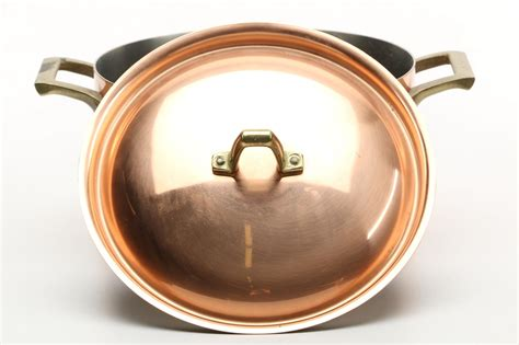 paul revere copper  stainless steel cookware ebth
