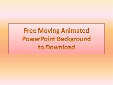 vpowerpoint templates  animated background vto