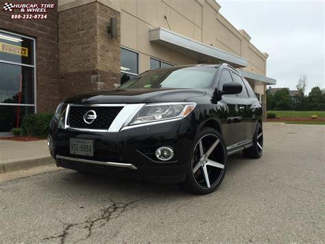 2013 Nissan Pathfinder Kmc Km685 District Wheels