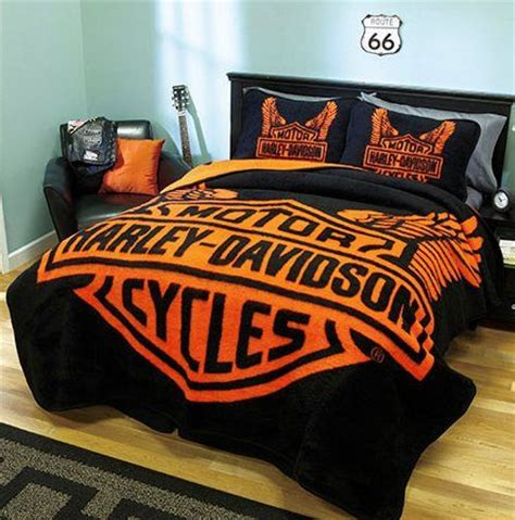 harley davidson comforter set 1000 images about harley davidson on biker