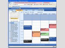 Access Outlook calendars online