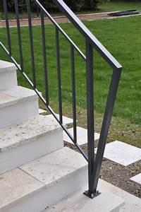 garde corps pvc exterieur dootdadoocom idees de With modele escalier exterieur terrasse 16 cb8 design garde corps en fer forge