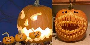 Une Citrouille Pour Halloween : comment d corer une citrouille ~ Carolinahurricanesstore.com Idées de Décoration
