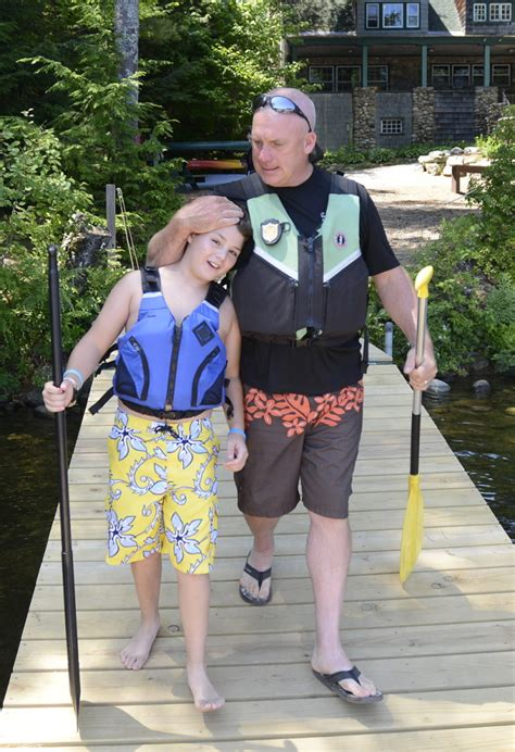inaugural camp north woods connects kids tv stars portland press