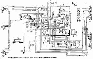 Morris Mini 1000 Wiring Diagram Electrical Schematic