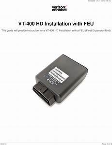 Verizon Connect Feu Feu User Manual