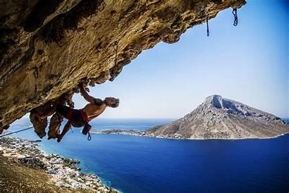 Climbing Kalymnos Rock Places Greece Interesting Sport