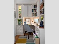 20 Home Office Designs for Small Spaces Small office
