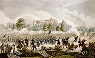 The Battle of Chapultepec in the Mexican-American War