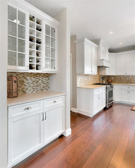 shaker kitchen cabinets white shaker style kitchen manalapan new jersey by design 5164