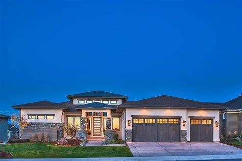 Stylish Prairie Mountain Modern House Plan