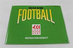 Manual - Nes Play Action Football