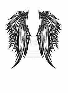 Drawings of Dark Angel Wings images