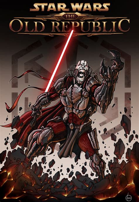 SWTOR Fan art by Tony Vassallo
