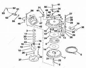 Johnson 2005 55 - J55aprlsom  Manual Starter