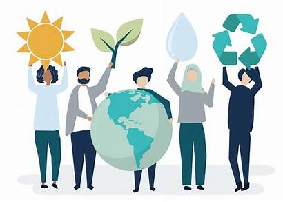 Sustainability Environmental Vector Concept Clipart Resources Graphics