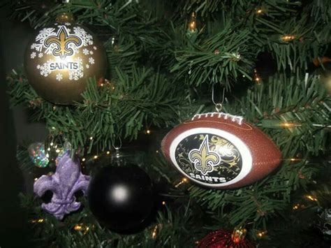 new orleans saints christmas ornaments my new orleans