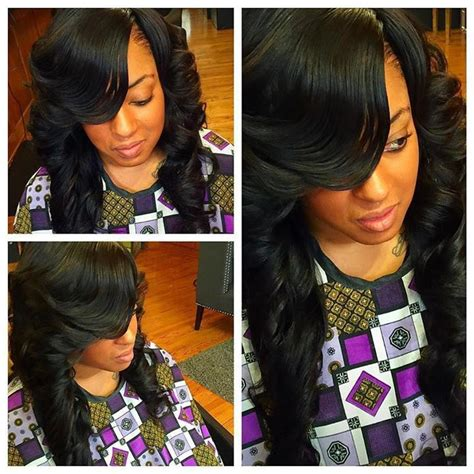 Sew In Hairstyles With No Hair Out by Sew In Hairstyles No Leave Out Sew In Hair Styles No