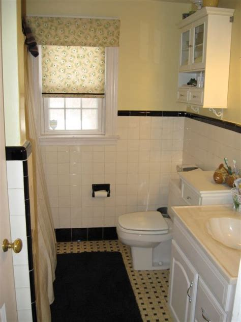1950s Bathroom Tile by Decorate Home 1950 1950s Original Black White Tile