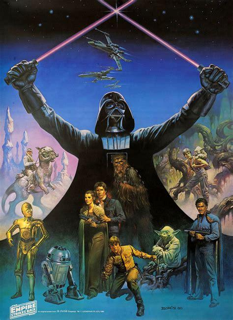 empire strikes    poster posteritati