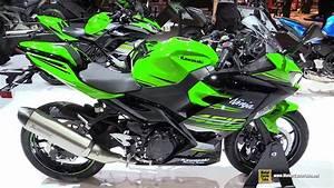 Kawasaki Ninja 400 : 2018 kawasaki ninja 400 walkaround 2017 eicma milan motorcycle exhibition youtube ~ Maxctalentgroup.com Avis de Voitures