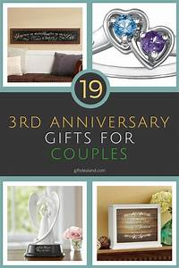 19 great 3rd wedding anniversary gift ideas for couples With third wedding anniversary gift ideas