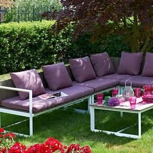 Coussin Salon De Jardin Palette : meubles jardin coussins accueil design et mobilier ~ Teatrodelosmanantiales.com Idées de Décoration