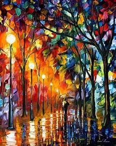 Modern impressionism palette knife oil painting kp147 ...