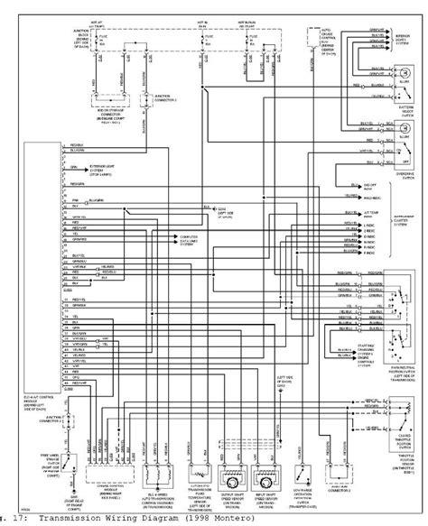 Mitsubishi Truck Wiring Diagram by 2000 Mitsubishi Montero Sport Ls 4x4 Mt Quot N Quot Light Keeps