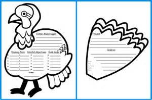 Printable Turkey Cut Out Template