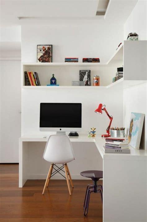 idee bureau petit espace les étagères d angle en 41 photos pleines des idées