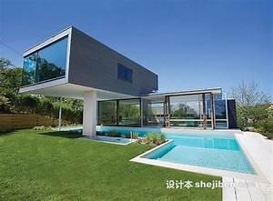With jardin et piscine design 16 une maison container de luxe avec des finitions