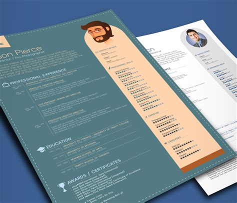 simple professional resume template in ai eps psd word