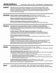 engineering internship resume the best resume With how to write a resume for internship
