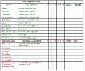 best 25 adult chore chart ideas on pinterest chore With house chore schedule template